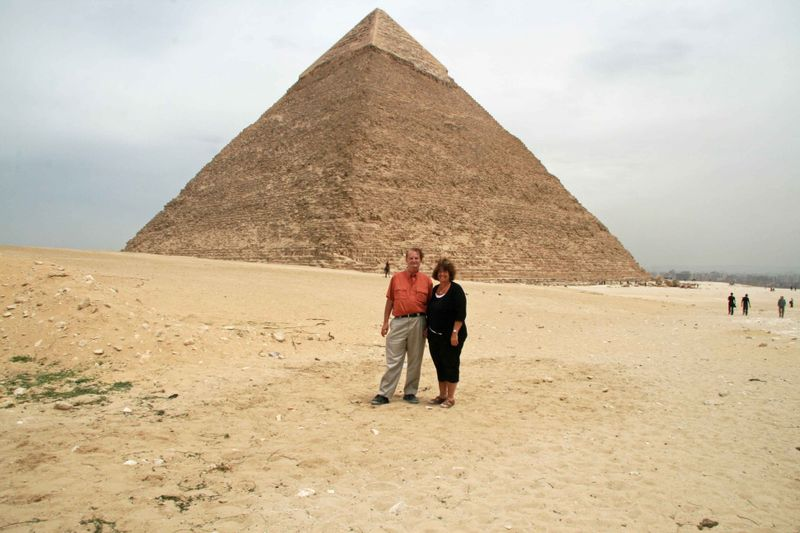 Alan & Nancy at Khafre